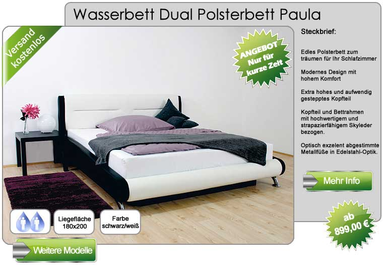 wasserbetten centrum werl wasserbetten online kaufen. Black Bedroom Furniture Sets. Home Design Ideas