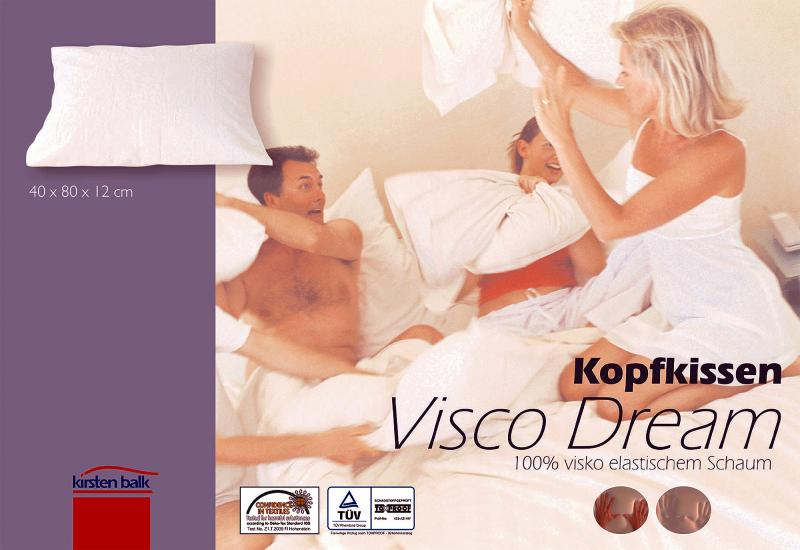 Wasserbetten-Centrum Werl - Visco Dream Kopfkissen - Kirsten Balk
